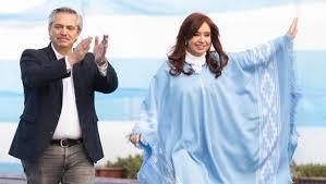 FELICITACION  AL BINOMIO PRESIDENCIAL QUE TRIUNFO EN LA  ARGENTINA